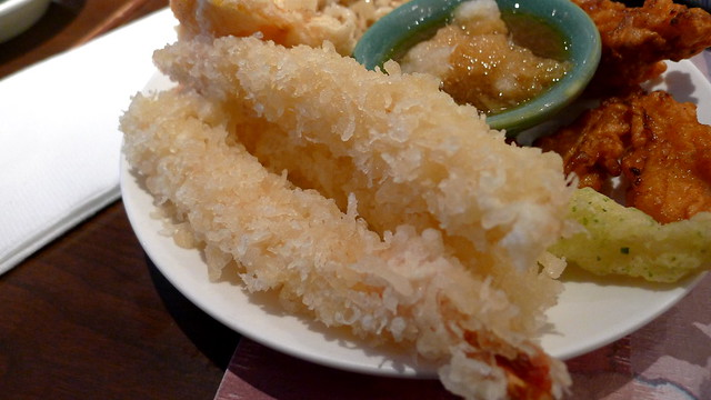 tempura shrimp close-up