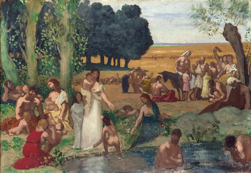 Pierre-Cecille Puvis de Chavannes - Summer [before 1873] by Gandalf's Gallery