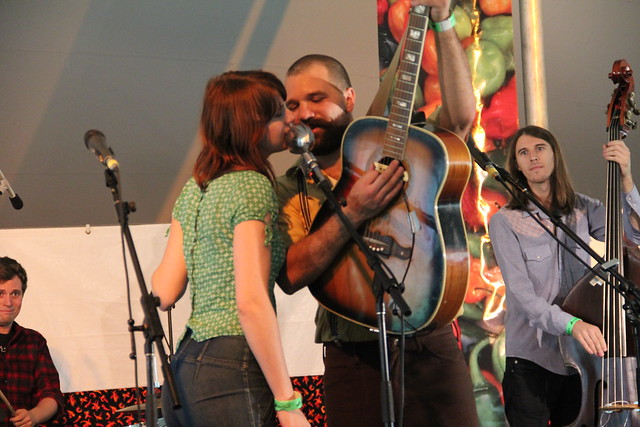 The Defibulators perform at the 2011 Chile Pepper Fiesta.