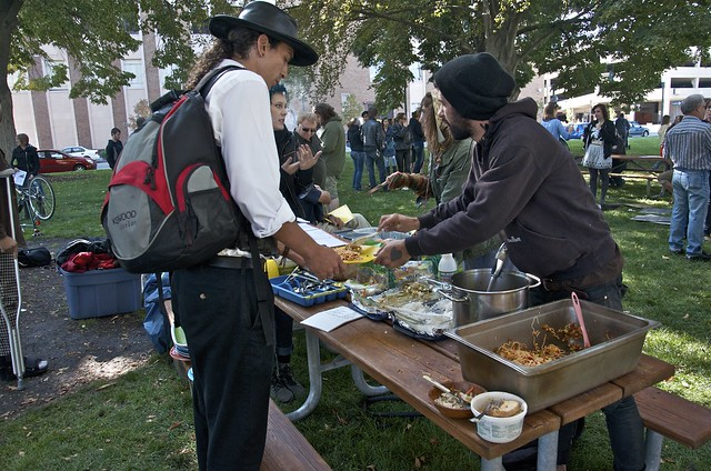 Food Not Bombs Table
