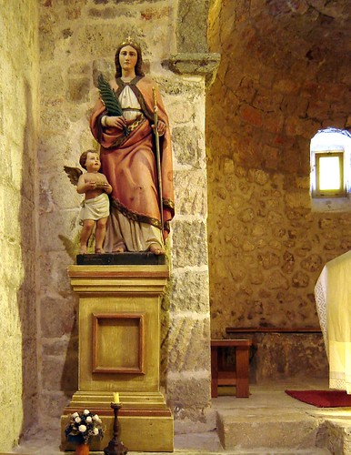 Pyhän Lucian patsas Krk