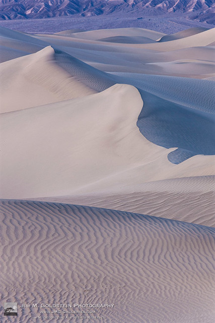 Blue Hour at the Mesquite Dunes, Death Valley National Park
