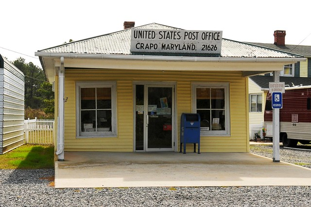 United states post office crapo md 21626 flickr photo sharing - United states post office ...