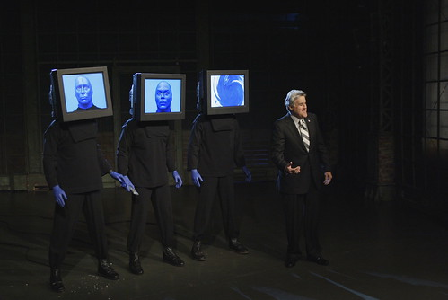 Blue Man Group on The Tonight Show with Jay Leno, 2005
