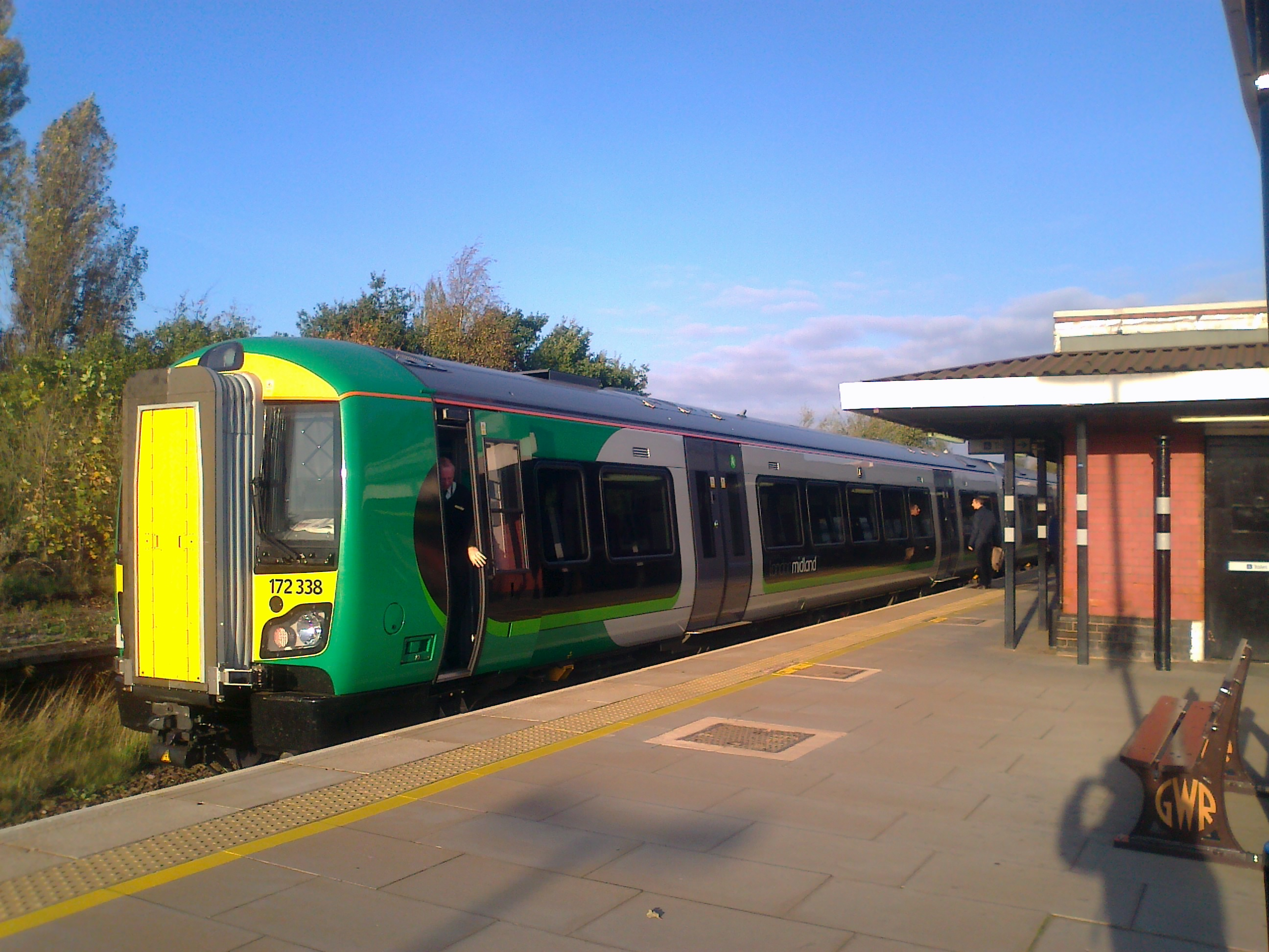 London Midland Train 172338 Solihull Station Flickr