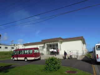 自衛隊硫黄島基地の厚生館