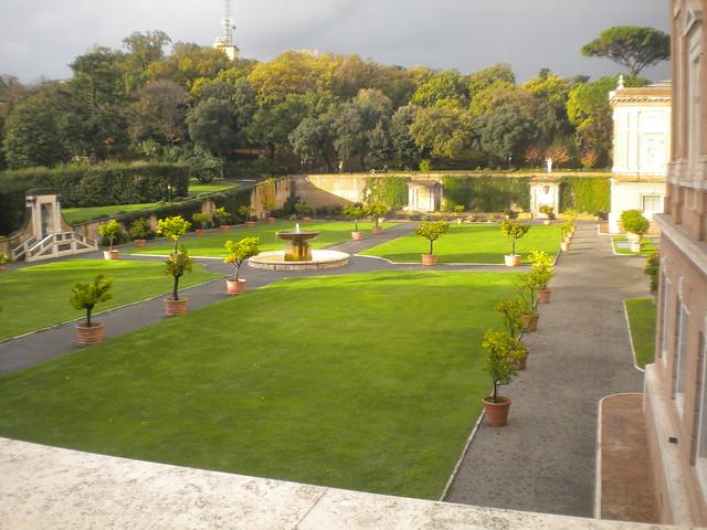 Jardines de los Museos Vaticanos