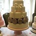 Demo wedding cake and cupcakes