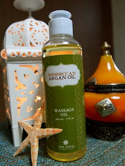 moroccan argan oil massage oil