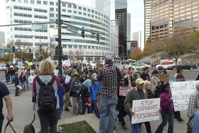 Occupy Denver - October 29, 2011