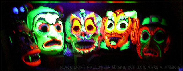 Black Light Masks