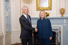 Secretary Clinton Meets With Secretary Bryson by U.S. Department of State