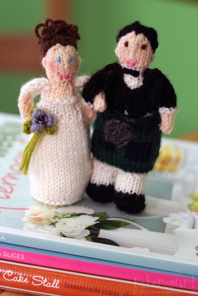 Knitting Cake Toppers : Bakercourt knitting sewing crafting alan dart s