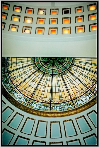 county usa house building art glass stain architecture court pennsylvania seat murals style places tourist historic pa dome empire second government courthouse register deco domes cambria registry attraction preservation nrhp onasill ebensberg