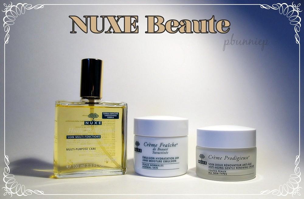 thebunniehole vancouver youtuber blogger nuxe skincare dry oil creme fraiche creme. Black Bedroom Furniture Sets. Home Design Ideas