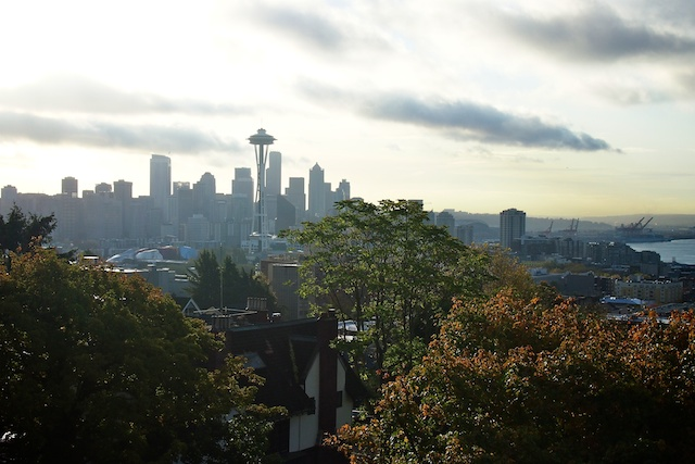 Seattle from Queen Anne