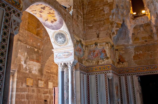 La zisa interni il palazzo della zisa dall arabo al - Arredatori d interni roma ...