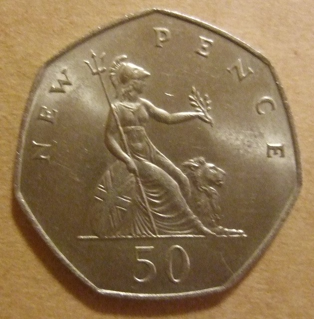 Great Britain 1969 50 New Pence A Flickr Photo Sharing