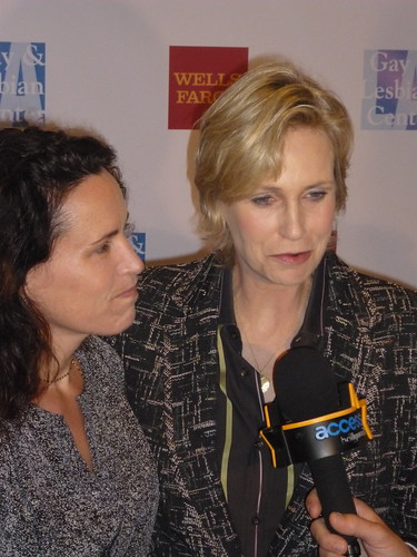 Lara Embry and Jane Lynch