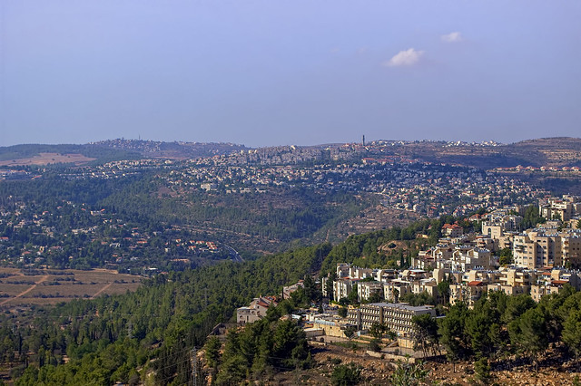 Overlooking Jerusalem from Flickr via Wylio