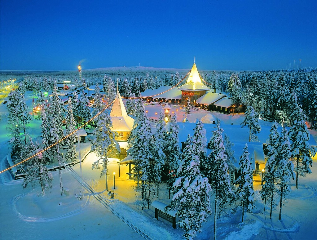 Santa Claus Village at the Arctic Circle