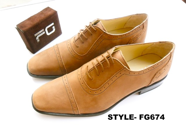 Leather Character Shoe