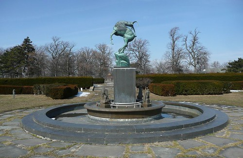 Leaping Gazelle, Belle Isle, Detroit, Michigan | by Marshall M. Fredericks Sculpture Museum
