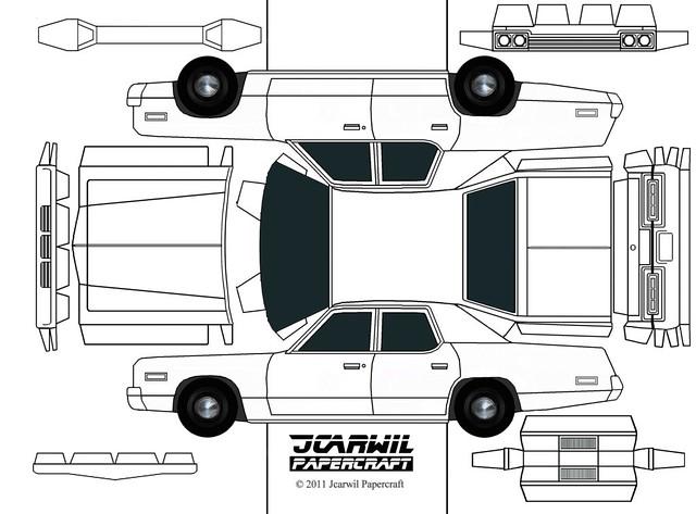 JCARWIL PAPERCRAFT '74 Dodge Monaco