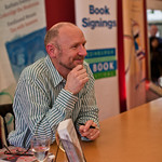 James Robertson | James Robertson meets his fans at the after-event book signing