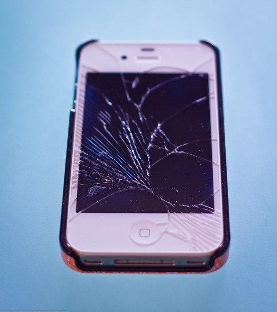 how to fix iphone 4s screen