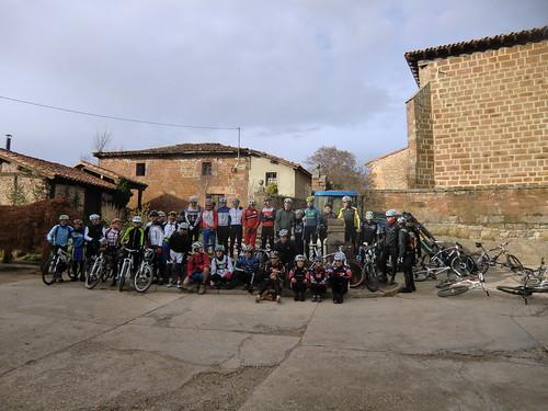 II Quedada BTT en Urrez-Burgos por Campagnolo. 17 Noviembre del 2012
