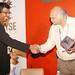 Vijay Anand handing over the memento to Hemant Kanakia at #nasscompc