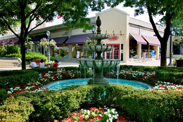 Suburban Square is a shopping center located in Ardmore, Pennsylvania, United States, in the Philadelphia area. The center opened in , and is notable as one of the earliest shopping centers in the United eacvuazs.gag: Parking lot.