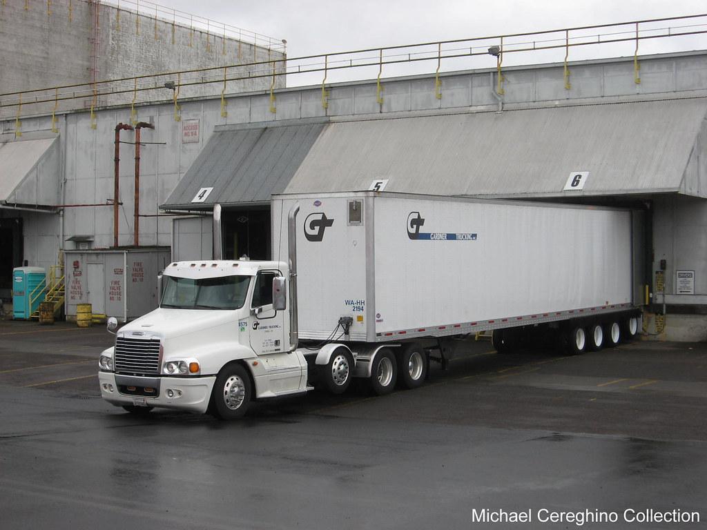 Gardner trucking 4 axle freightliner century class truck 4575