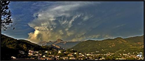 mountain france clouds montagne landscape europe nuages digne dignelesbains hdr alpesdehauteprovence asperatus asperatusclouds