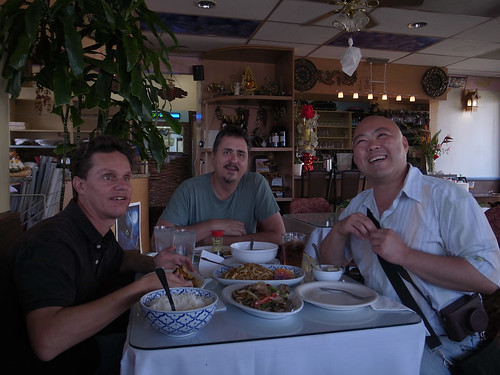 Lunch at Vietnamese restaurant with Daniel and Neil