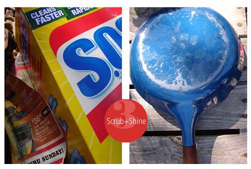 scrub+shine