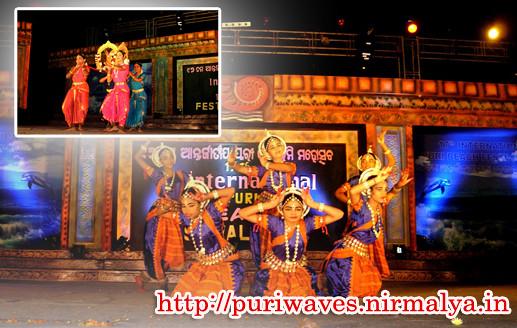 Fourth night cultural festival at 17th international beach festival 2011
