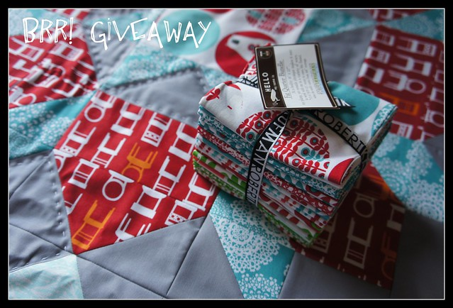 Brr Fat Quarter Bundle Giveaway!
