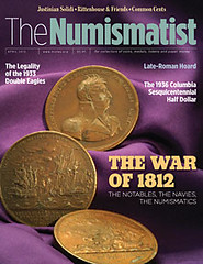 April 2012 issue of The Numismatist