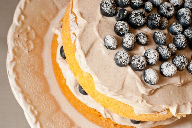 Cinnamon & Blueberry Cake | Mrs GA baked this amazing cinnam ...