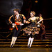 Liam Scarlett and Emma Maguire in the Neapolitan Dance in Swan Lake, Act III © ROH 2011