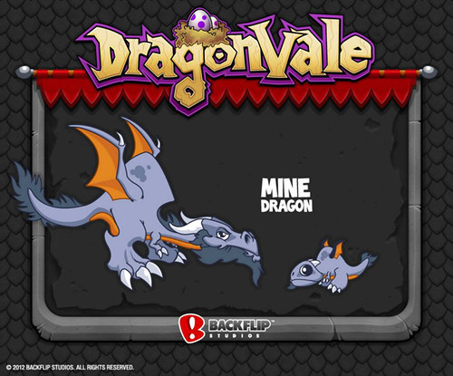 DragonVale Mine Dragon