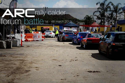 ARC Rally Calder Forum Battle