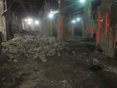 CM014A - Ongoing Demolition of Track Bed 123 (03-22-12)