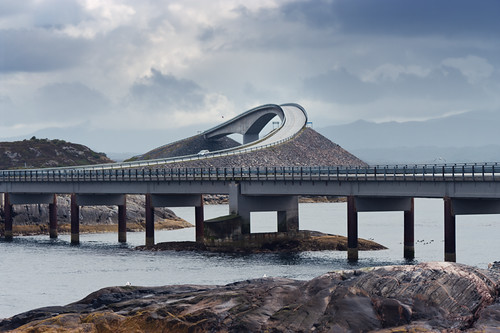 Storseisundbrua - Atlantic Ocean Road / Atlanterhavsveien Norway