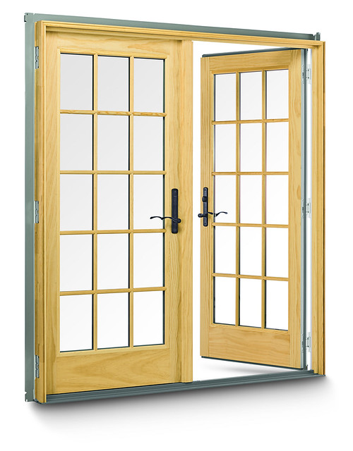400 Series Frenchwood Hinged Outswing Patio Doors - Flickr ...