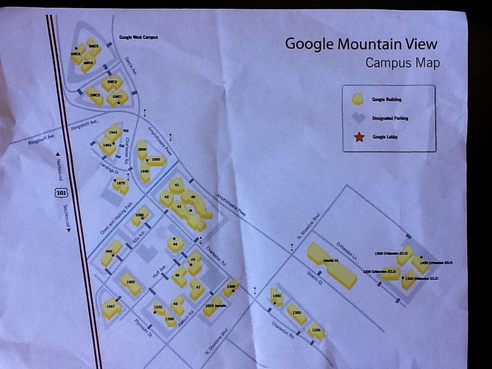 Google Mountain View Google Mountain View Map Brightlemon Flickr