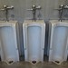 Urinals at Menard County Courthouse
