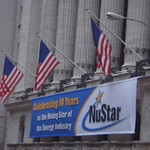 NuStar Ad on Stock Exchange Building